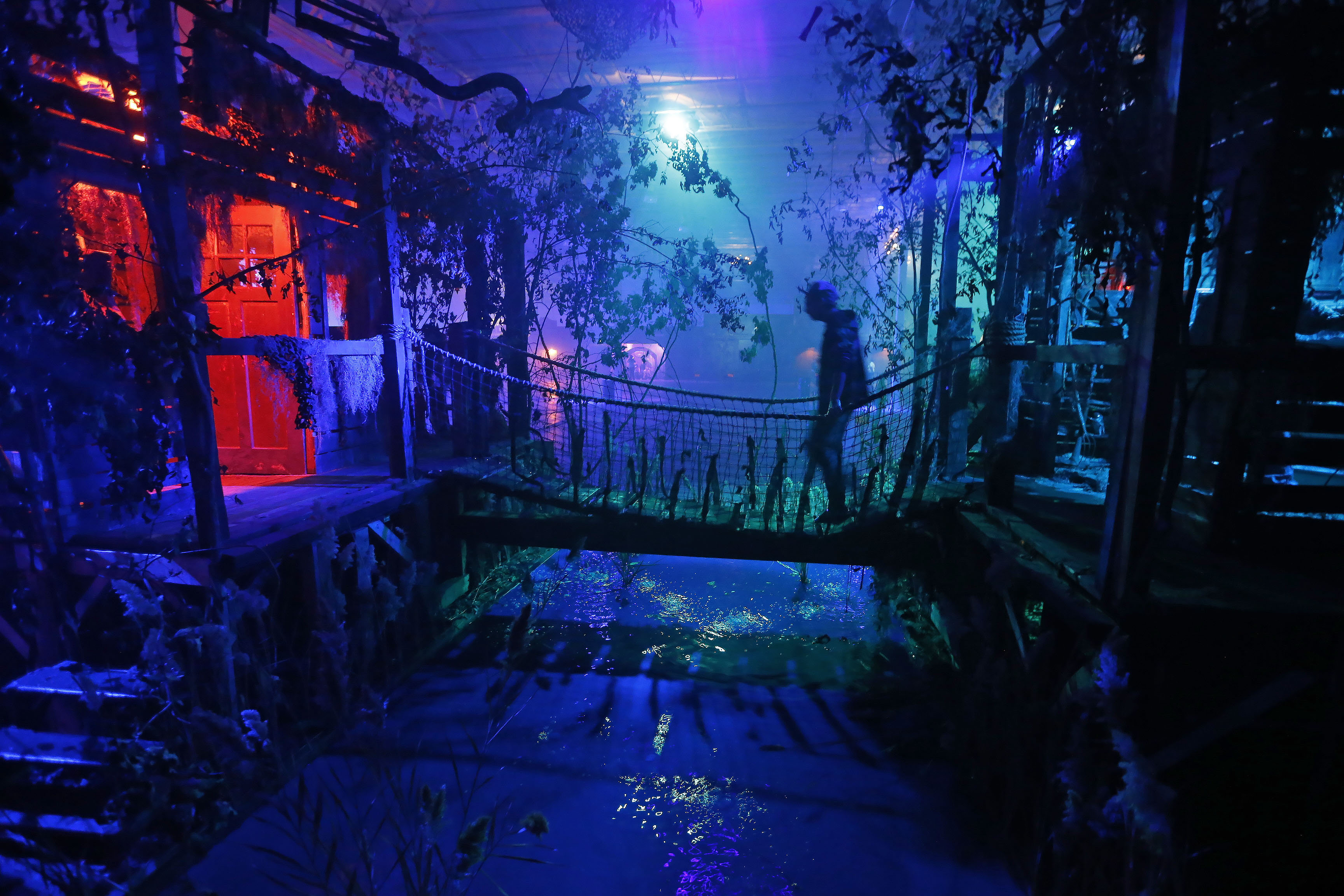 Frightworld in Tonawanda. (Robert Kirkham/Buffalo News)
