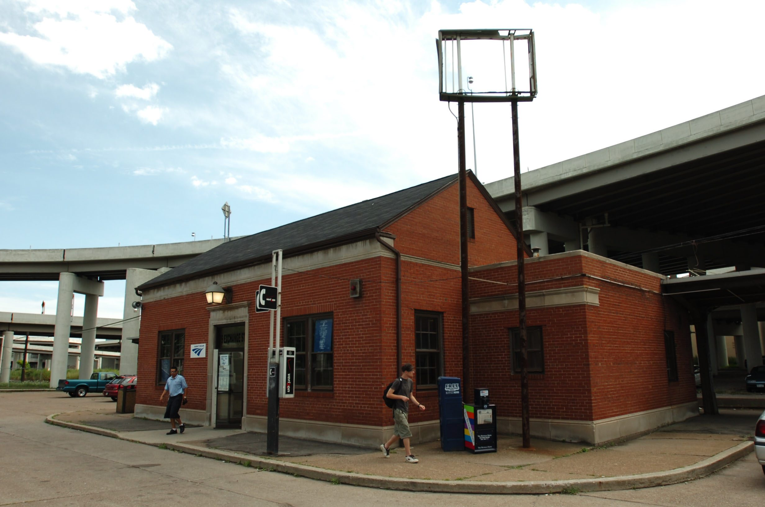 The Amtrak station on Exchange Street in downtown Buffalo. (News file photo)