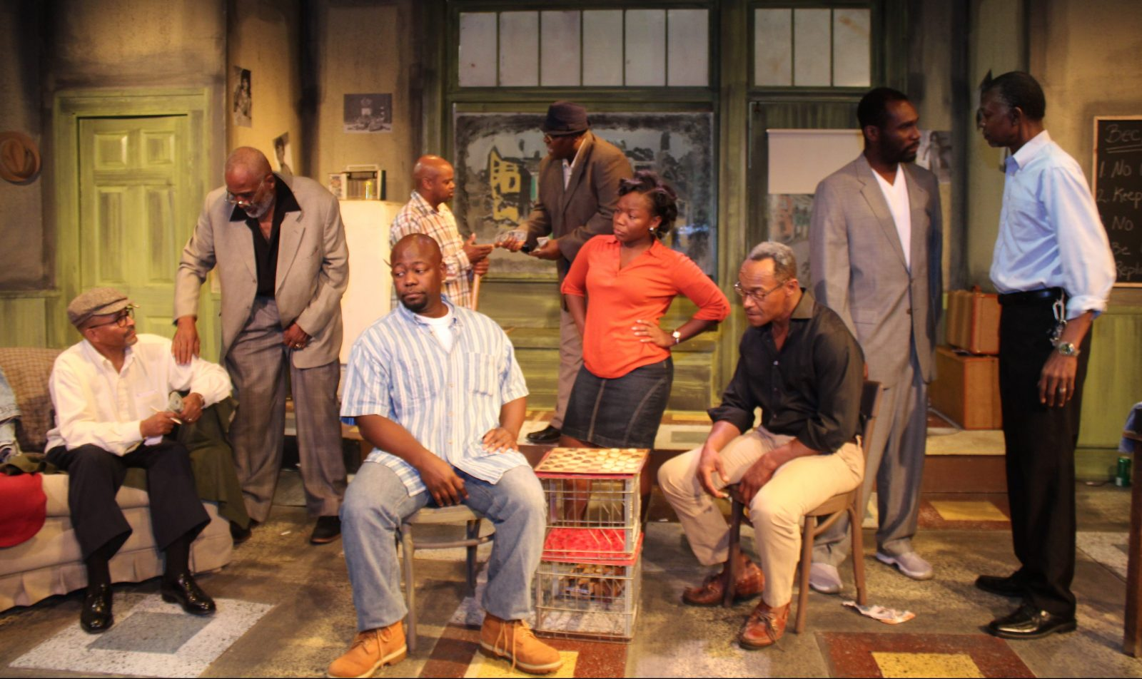 "Paul Robeson Theatre's production of""Jitney,"" won best production of a play in the 27th Artie Awards ceremony on June 5 in the 710 Main Theatre."