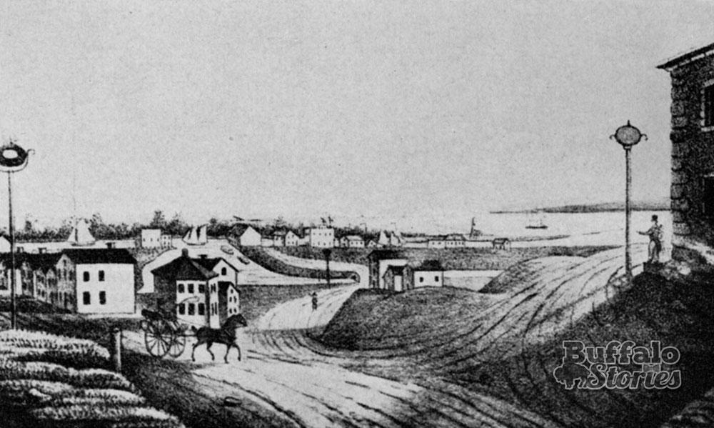The Village of Buffalo, 1825.