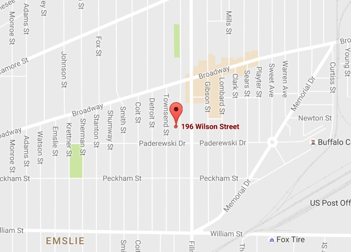 Buffalo firefighters were called to 196 Wilson St. at 2 a.m. Oct. 11. (Google Maps)