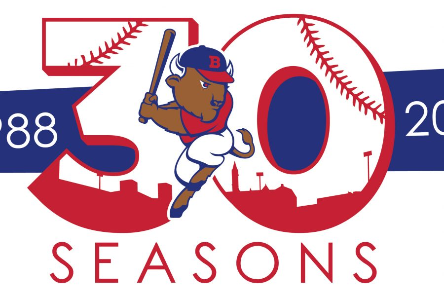 Bisons unveil 30th anniversary logo, 2017 start times