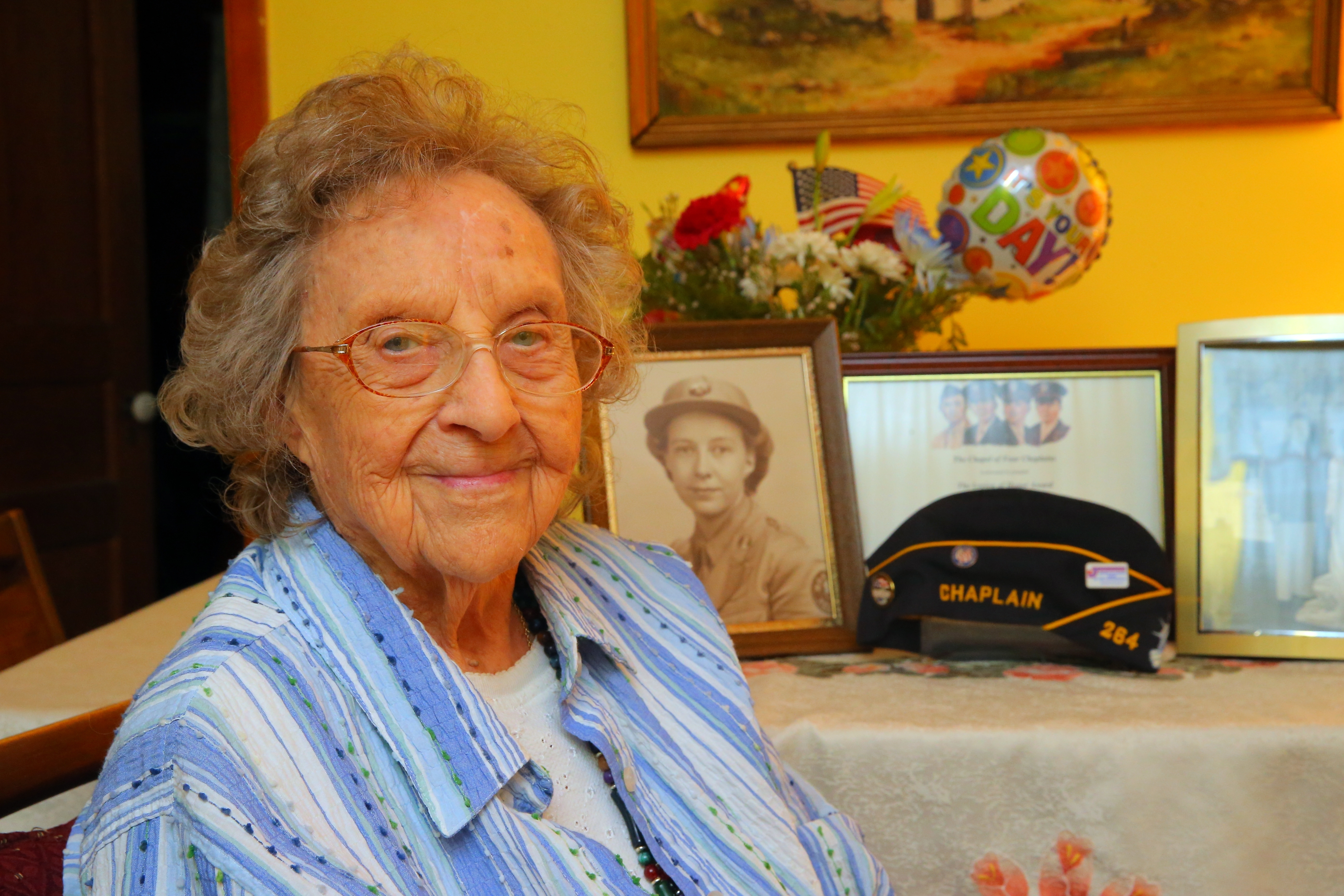 """""""I was a schoolteacher, and every teacher should know how to keep order,"""" Anna Mae Jones says of the time she kept watch over POWs with a pistol."""