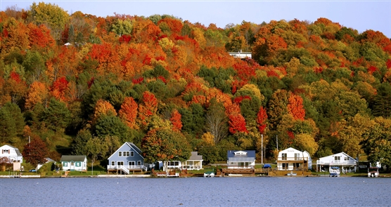 Fall foliage in Western New York