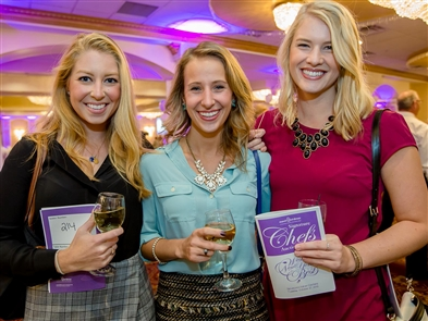 Smiles at Signature Chefs Auction for March of Dimes