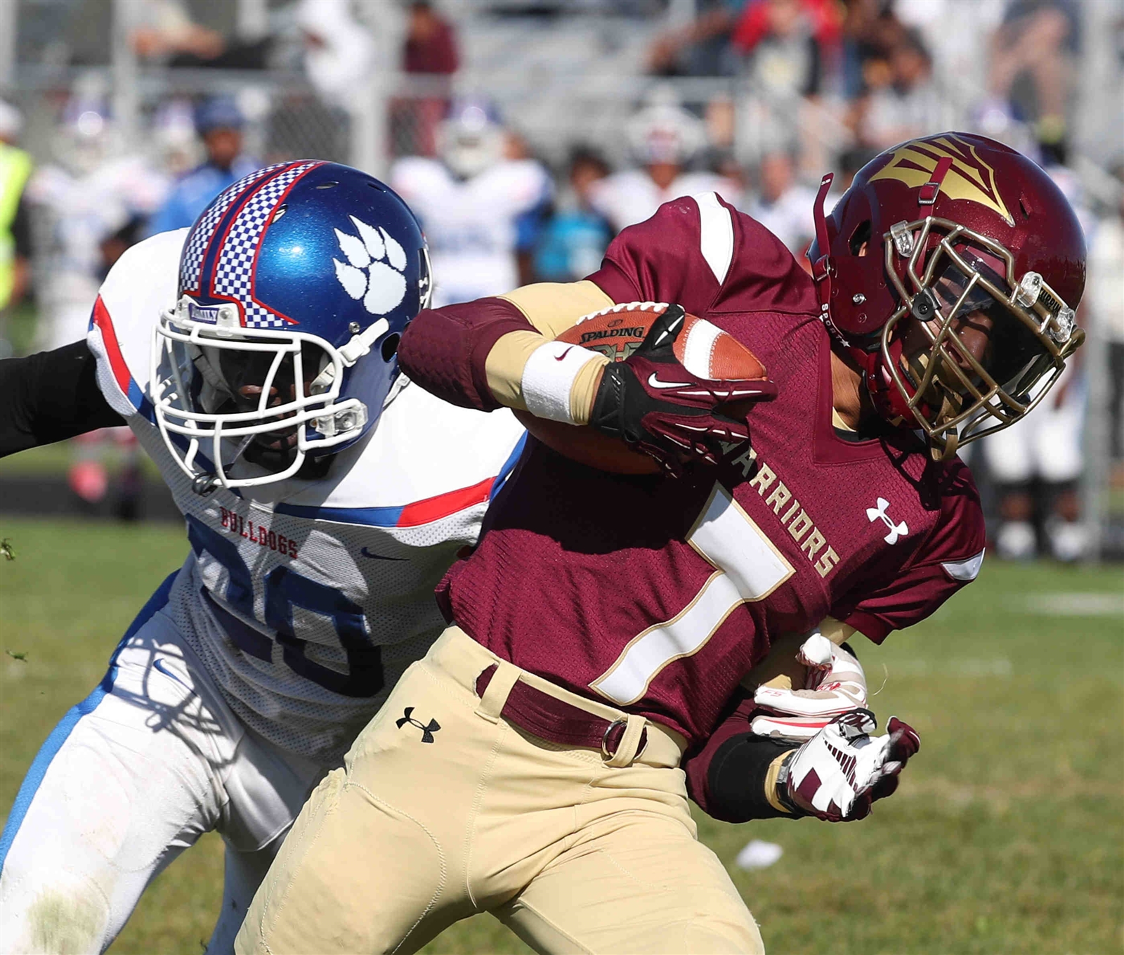 Seven Turpin and Cheektowaga head into an unbeaten clash with Olean in the Class B semifinals Friday night. (James P. McCoy/Buffalo News)
