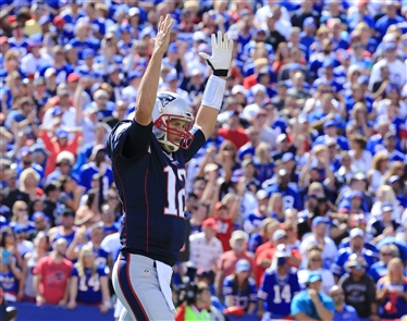 Tom Brady 25, Bills 3: Game-by-game since 2001