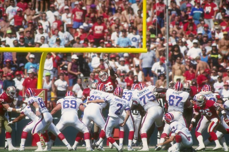 Remembering 1992's legendary Bills-49ers 'No Punt Game'