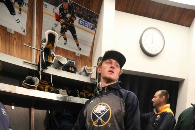 Sabres Eichel injury new