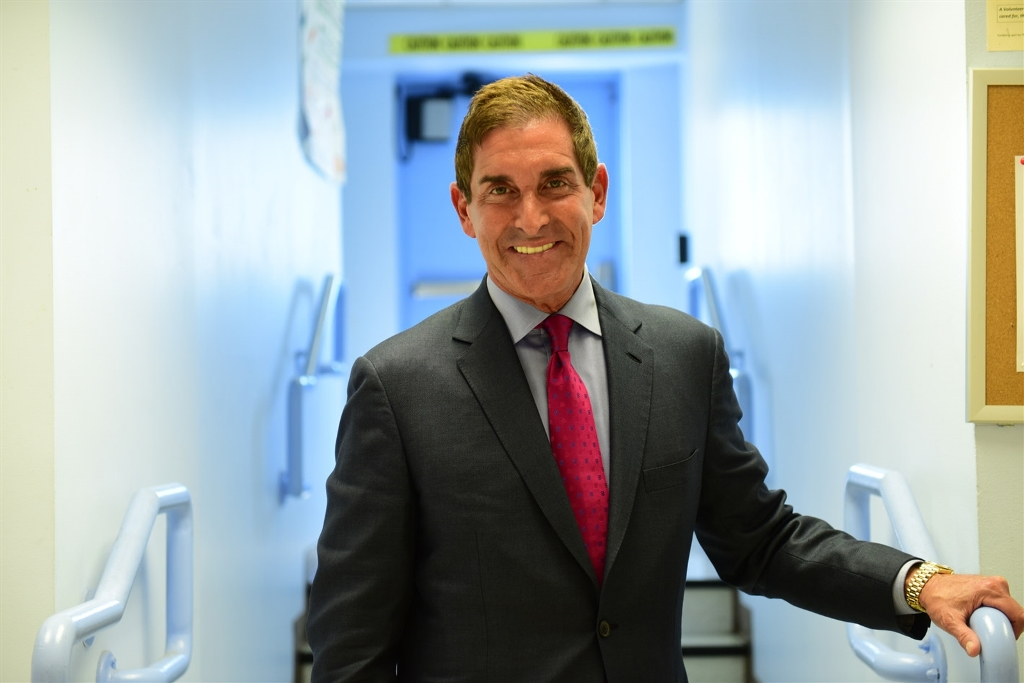 Sen. Jeff Klein, a Bronx Democrat who heads a breakaway group of a half-dozen Democrats, poses for a photo at Riverdale Senior Services, in the Riverdale section of the Bronx. (David Handschuh, Special to the Buffalo News)