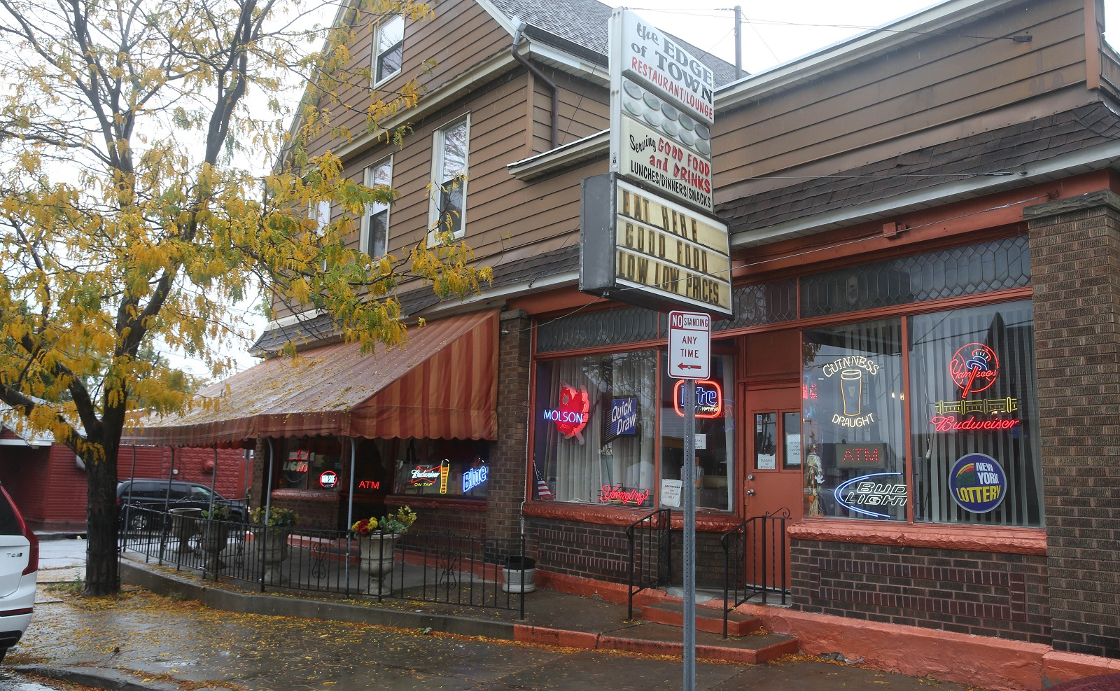 The Edge of Town has been serving customers for over two decades. (Sharon Cantillon/Buffalo News)