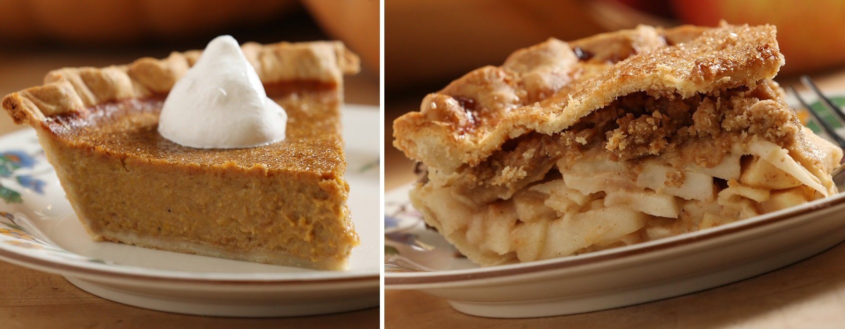 Galarneau highlights the pumpkin pie and streusel-stuffed apple pie from Farmers and Artisans. (Sharon Cantillon/Buffalo News)