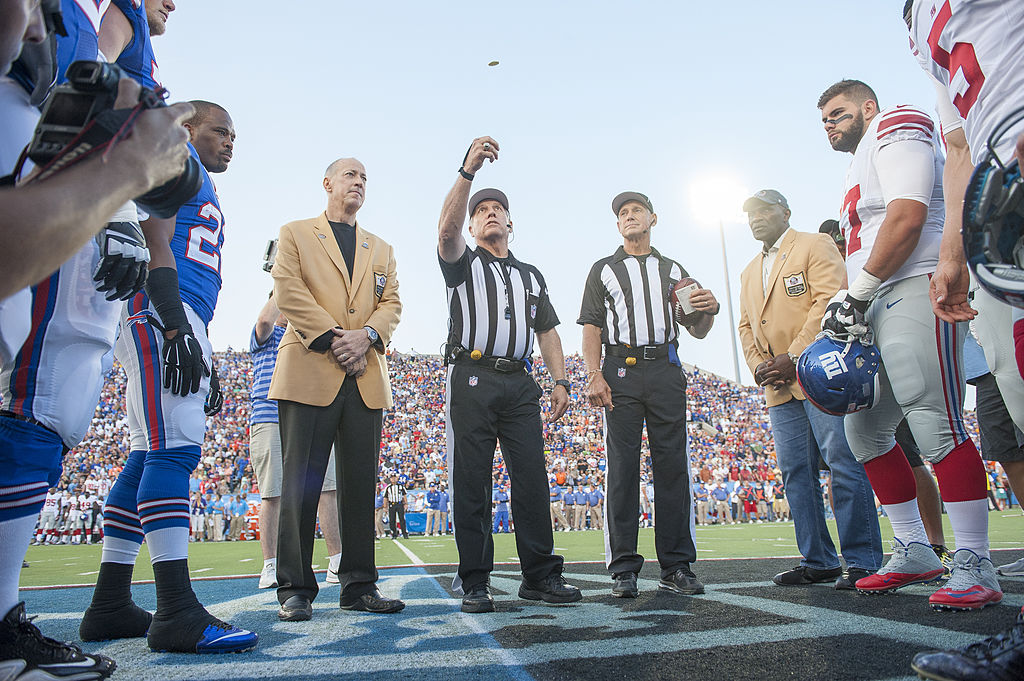 The NFL needs to take drastic steps to improve officiating. (Getty Images)
