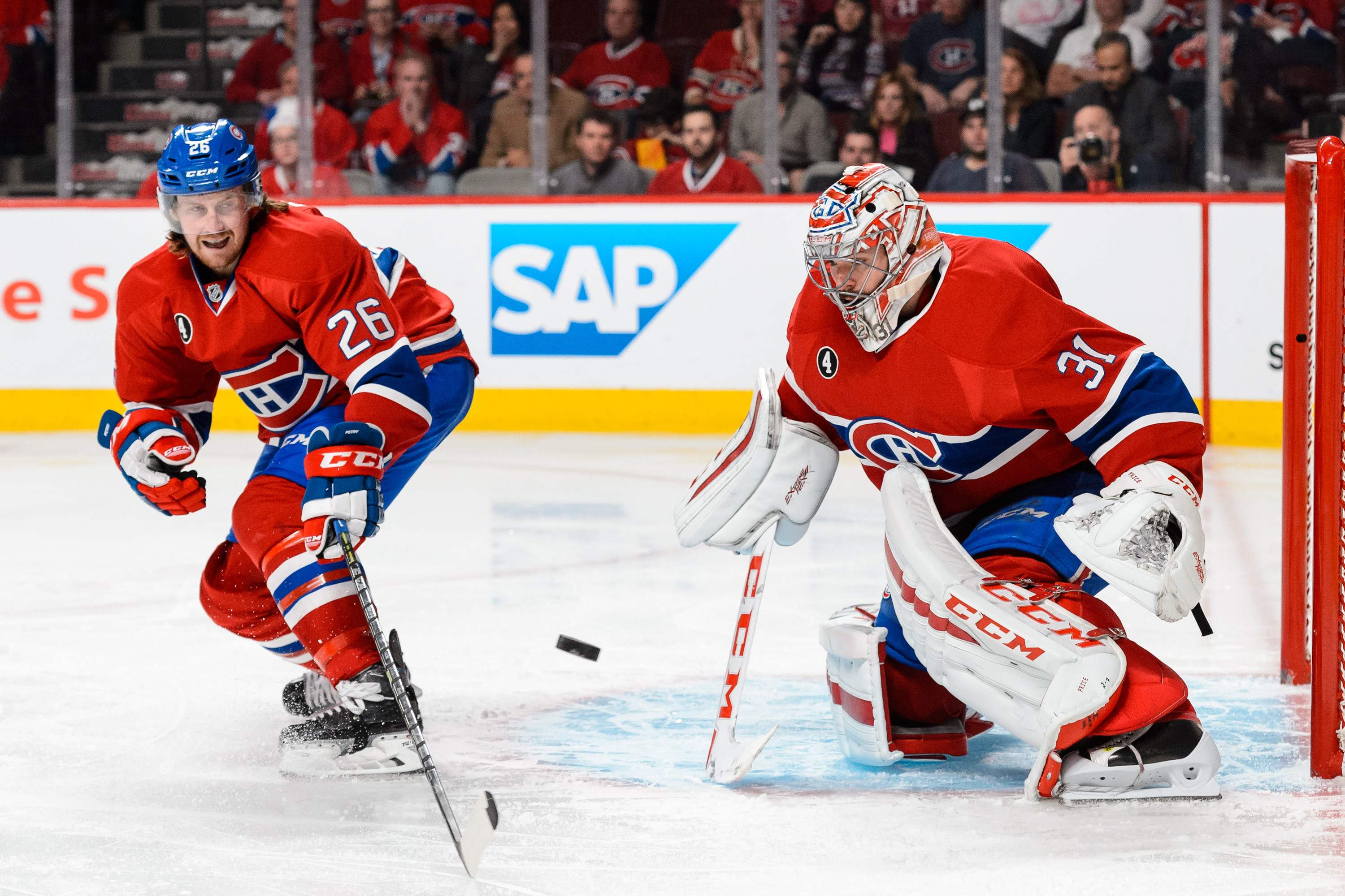 A healthy Carey Price gives the Canadiens a strong foundation. (Getty Images)
