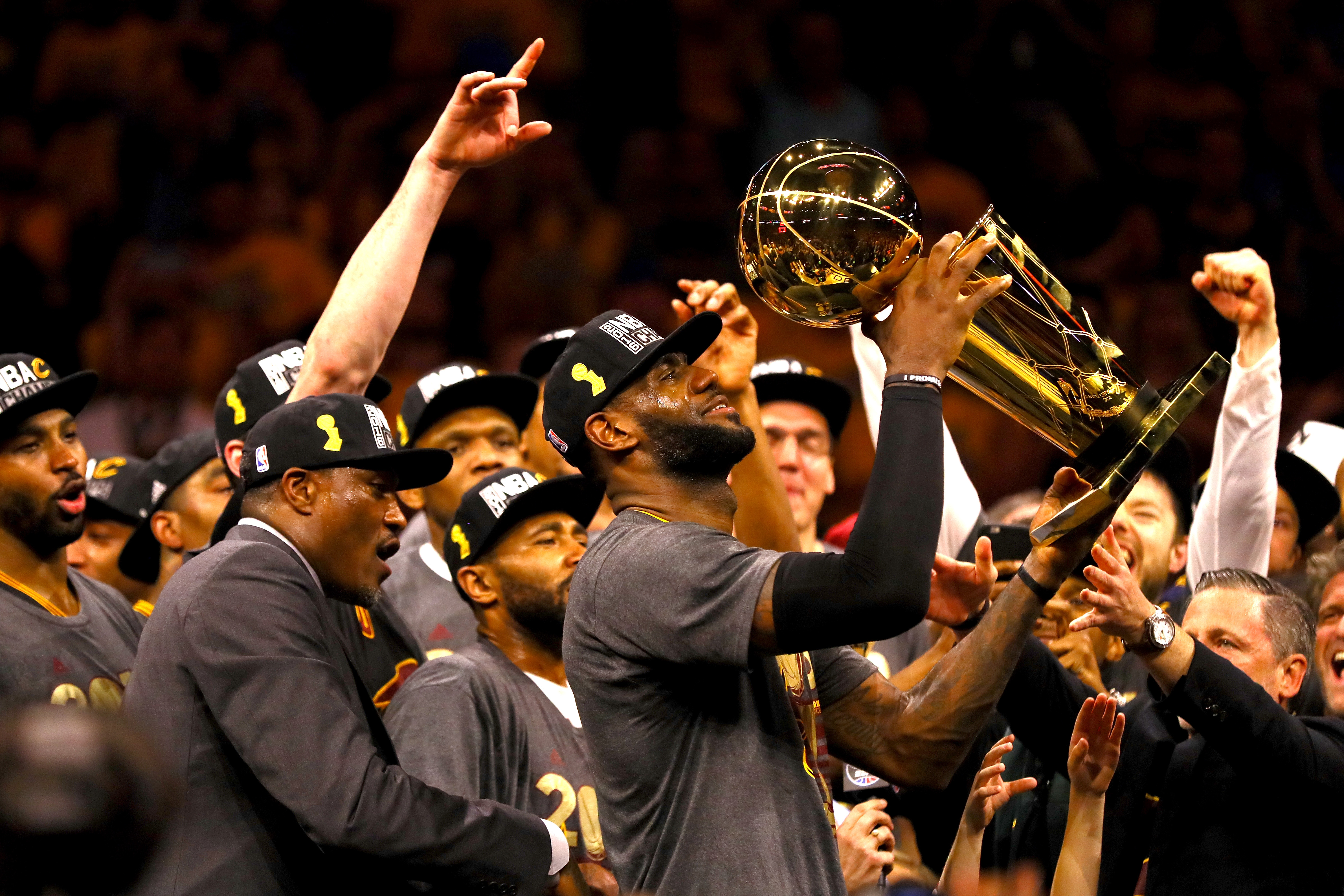The Cleveland Cavaliers now face the extreme challenge - defending their title. (Getty Images)