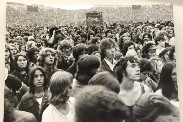 Crowd-sourcing: Emerson, Lake & Palmer at Rich Stadium, 1974