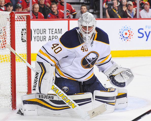 Robin Lehner will play this weekend after missing two games due to illness. (Getty Images)