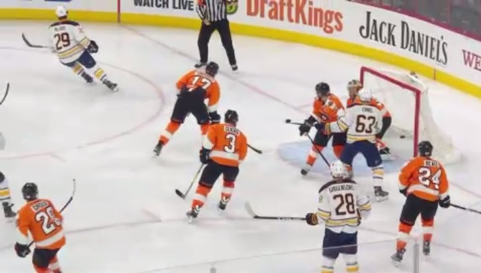 Video: Highlights of Sabres' shootout loss in Philadelphia