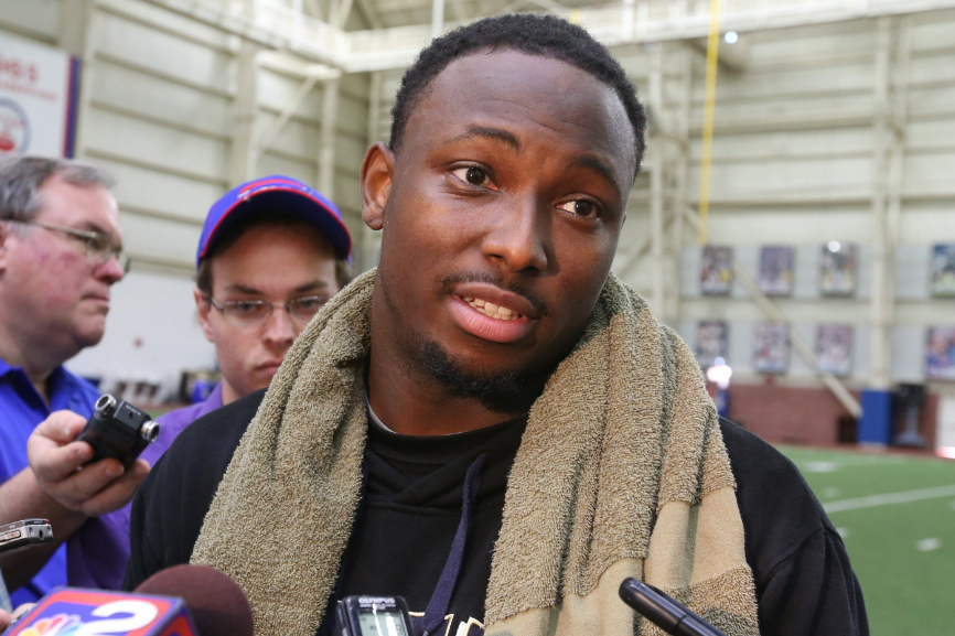 LeSean McCoy attacks Trump on Twitter