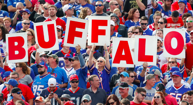If the season ended today, the Bills would...