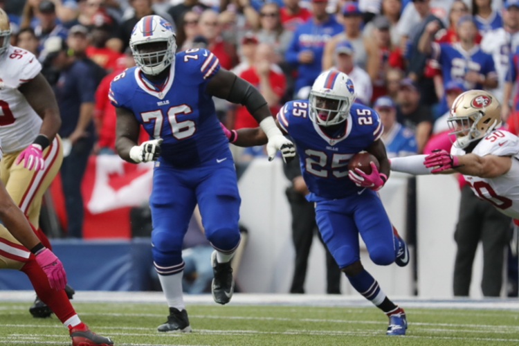 On the line from Vegas: Bills haven't been road favorites in divisional game in nearly a decade