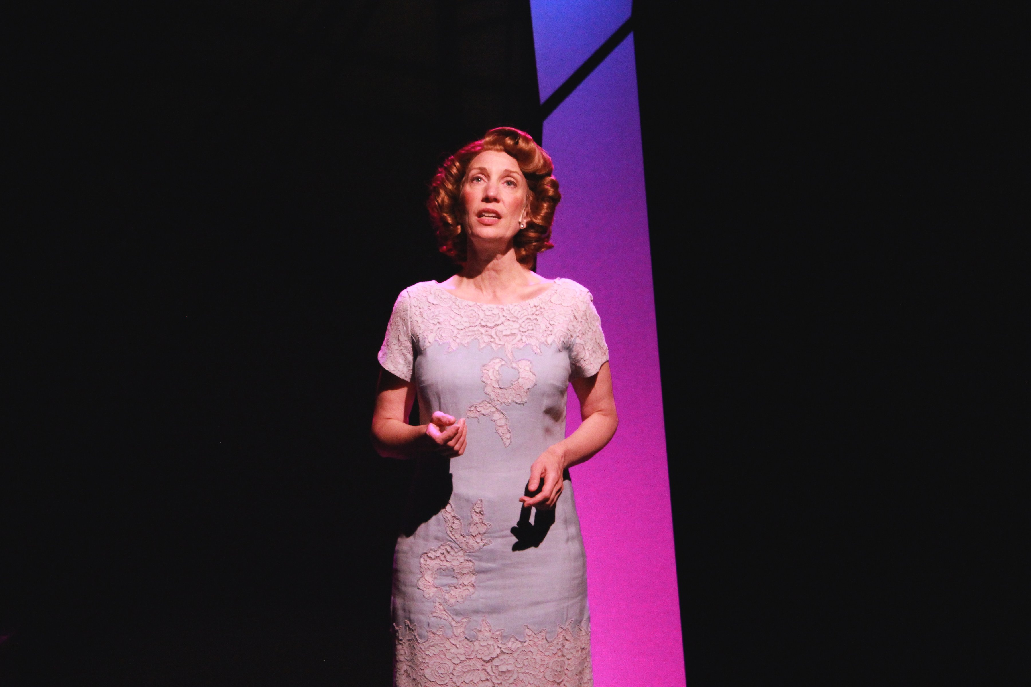 Debbie Pappas stars as Rosemary Clooney in 'Tenderly: The Rosemary Clooney Musical' at MusicalFare Theatre.