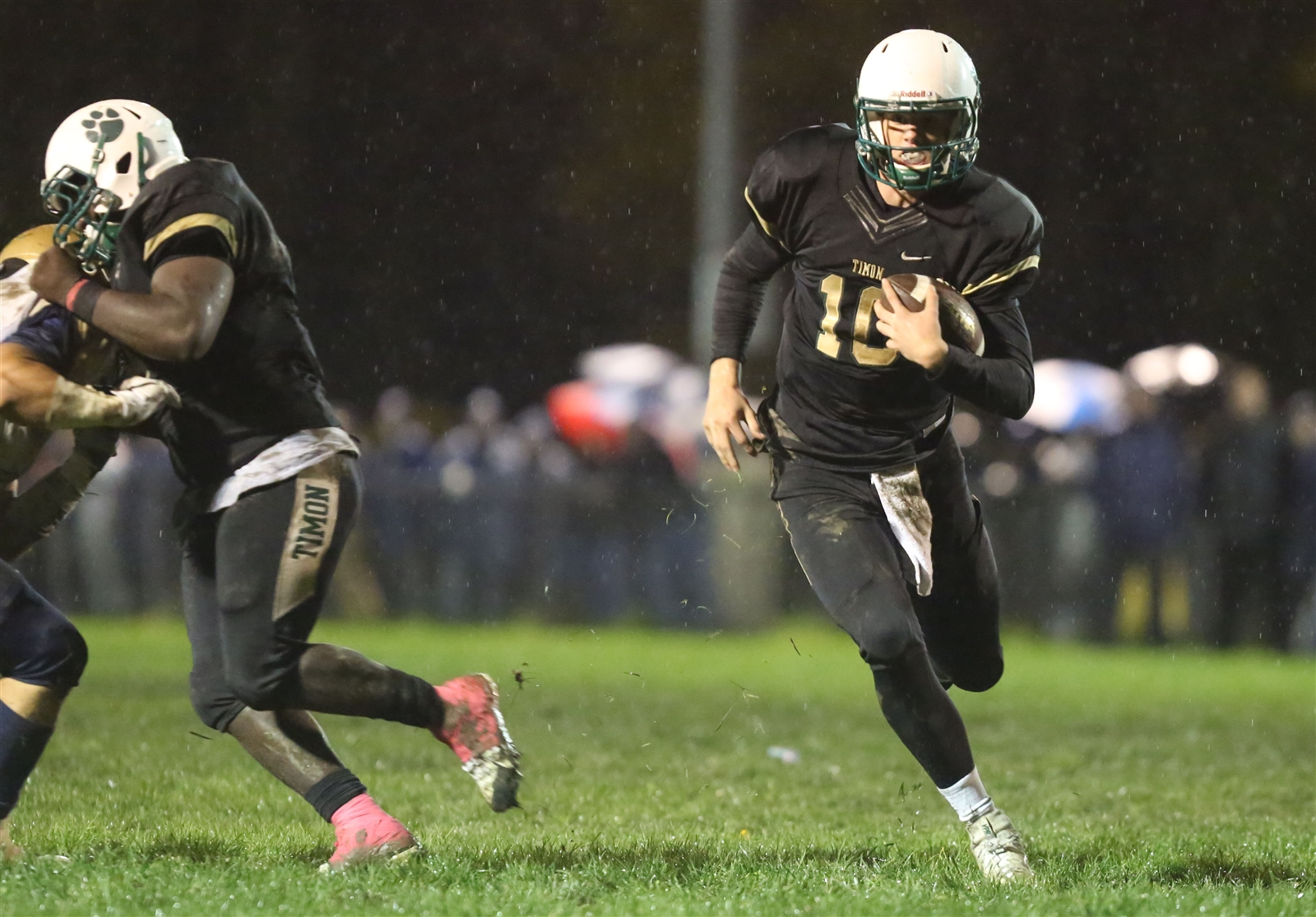 Matt Myers played a key role in Bishop Timon's big win over Canisius on Friday night.
