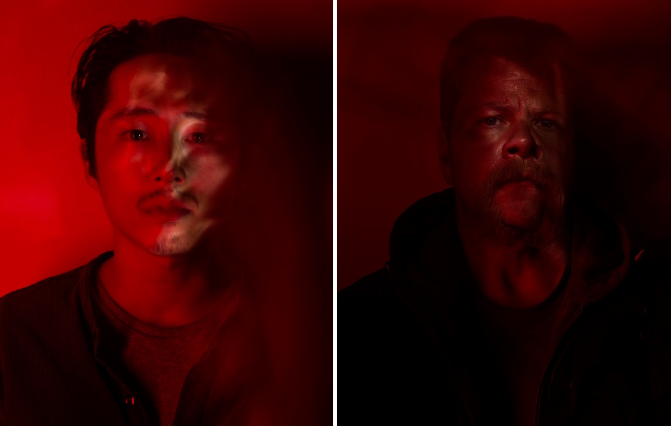 Glenn (Steven Yeun), left, and Abraham (Michael Cudlitz).