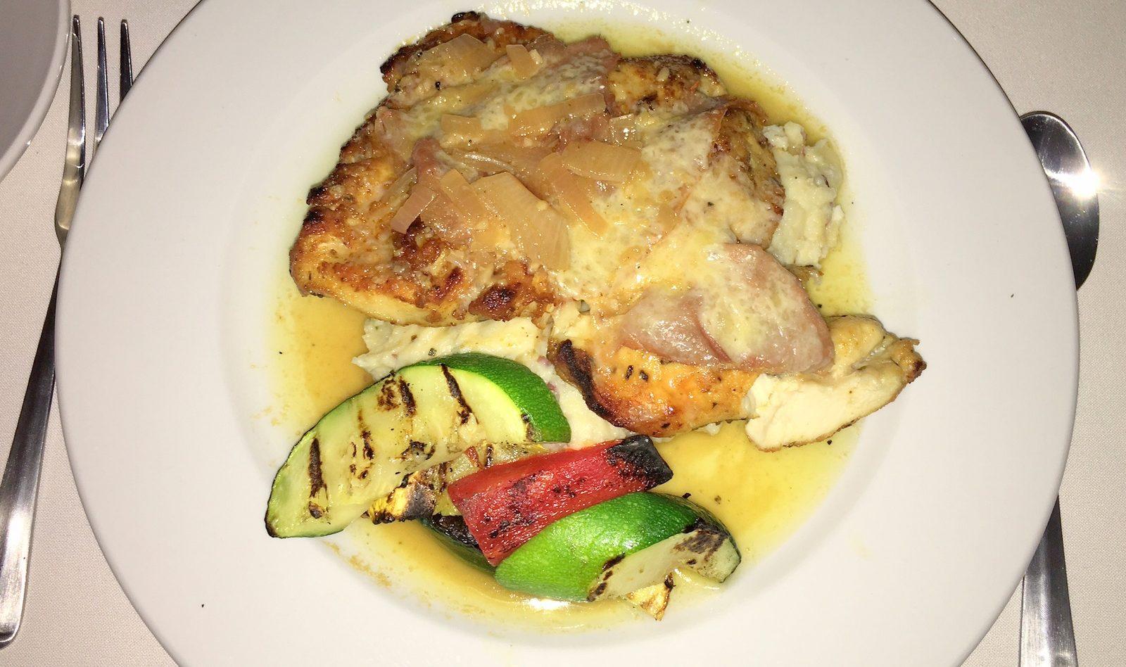Bellini Bistro's chicken saltimbocca is served with garlic mashed potatoes. (Photo: Bellini's Bistro)