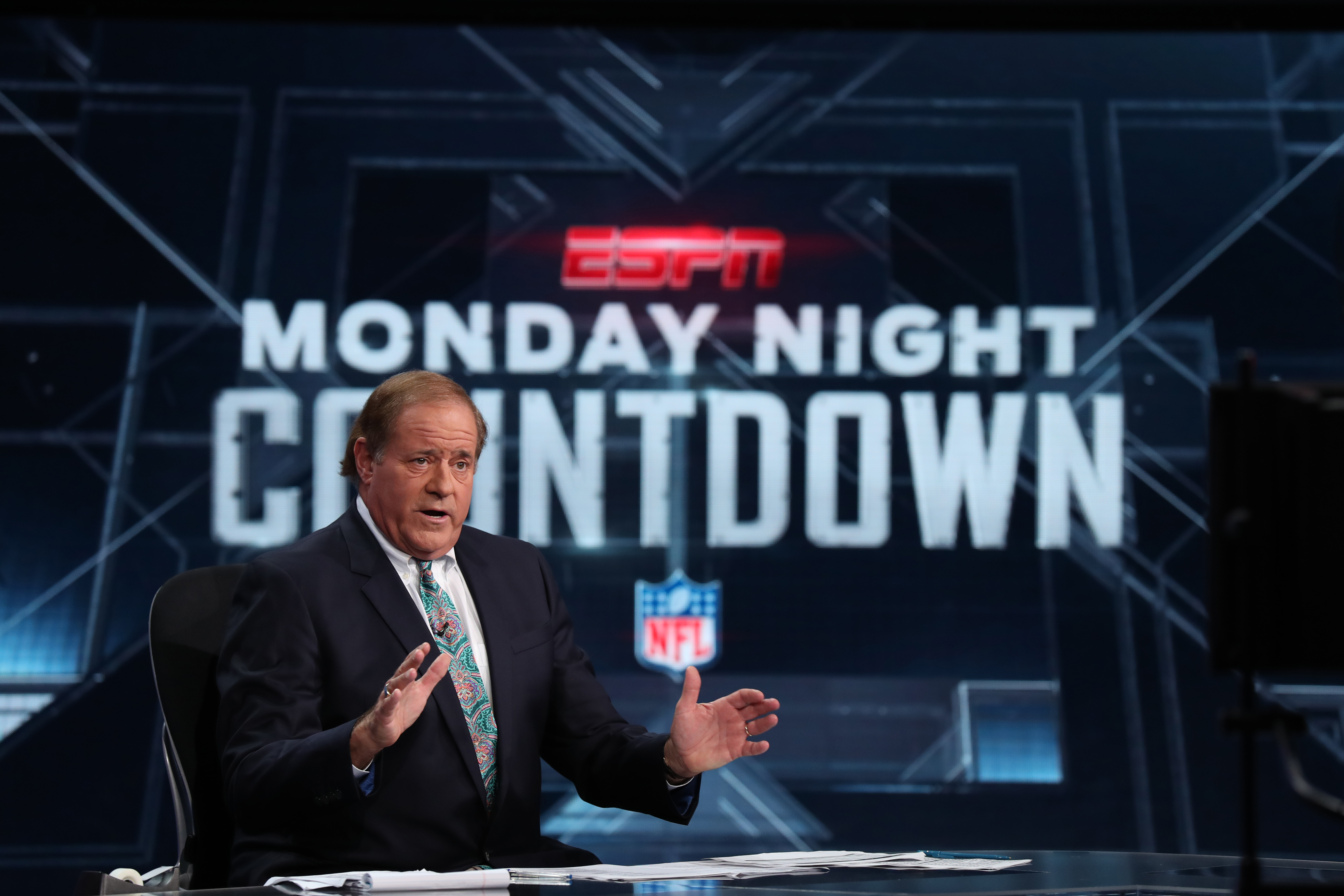 Chris Berman will welcome Jim Kelly and Bruce Smith on the next two installments of ESPN's Monday Night Countdown. (ESPN Images)