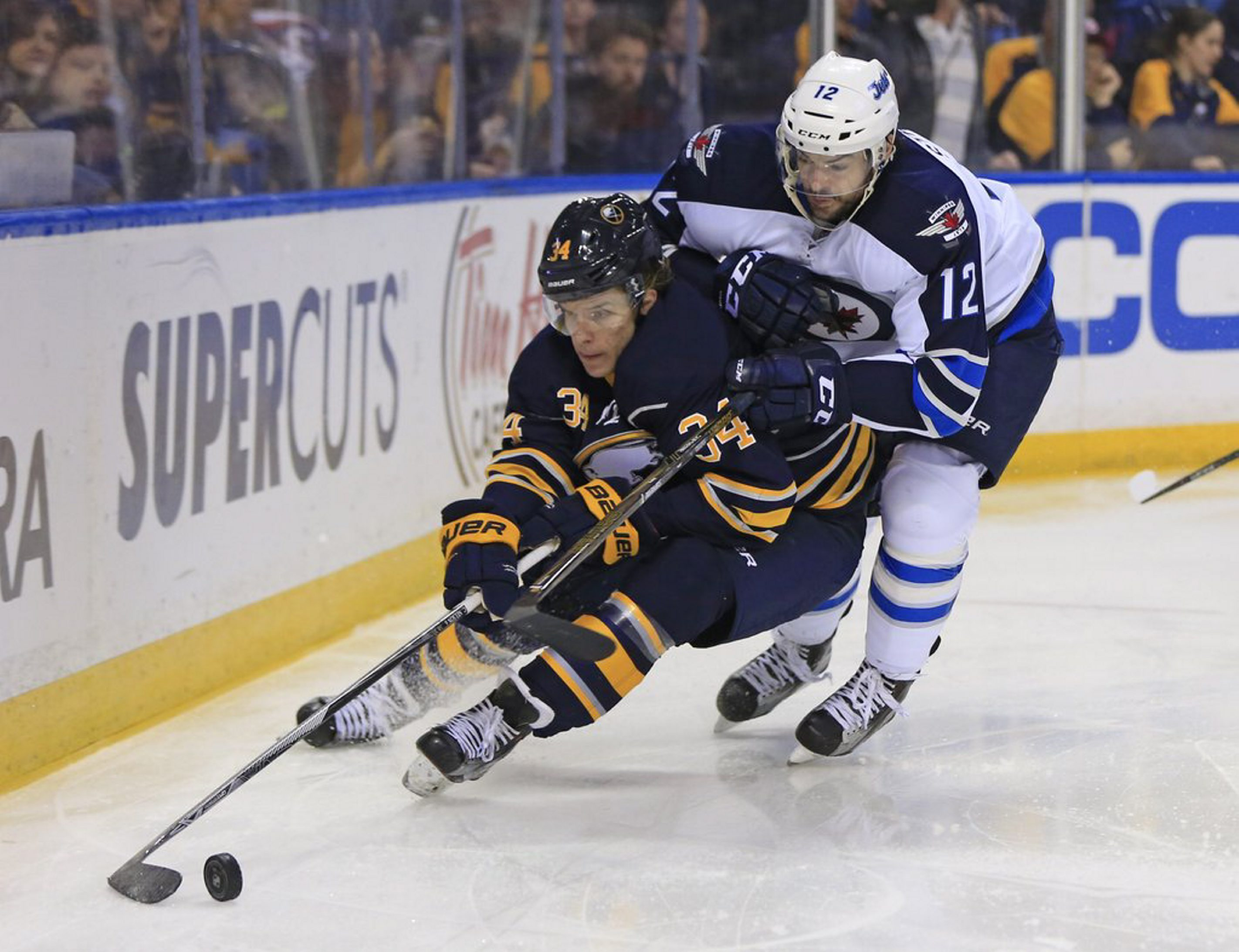 Casey Nelson earned his first recall to the Sabres this season. (Harry Scull Jr./Buffalo News file photo)