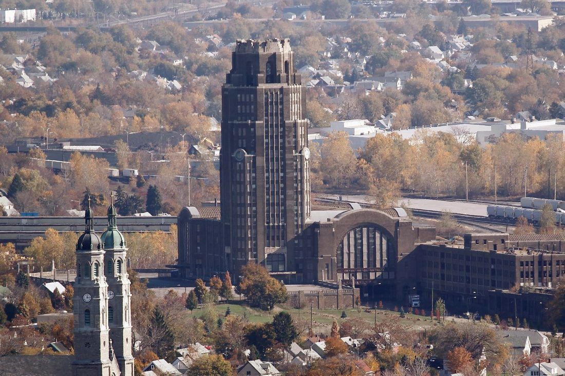 The Central Terminal is located in the Historic Polonia District on Buffalo's East Side. (News file photo)