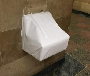 No lead in City Hall water fountains because none of them work