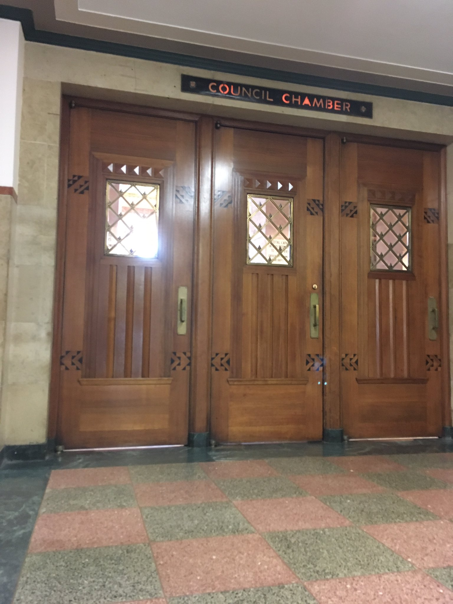 The Common Council Tuesday morning took up the issue of whether a former city exterminator was abusing sick time when working a second city job, but on the advice of city attorneys closed their meeting to the public and went into executive session. (Susan Schulman/Buffalo News)