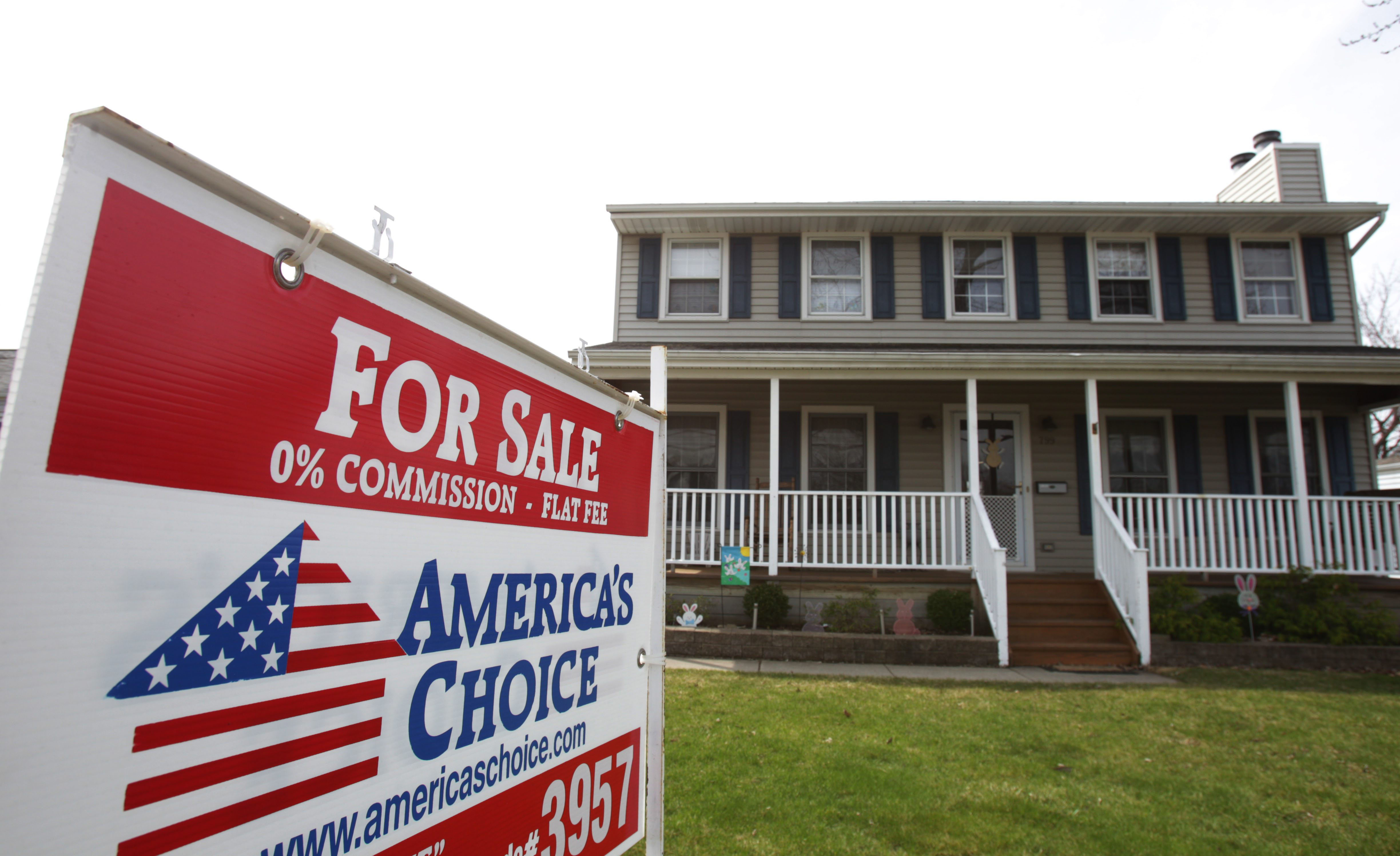 A house is for sale in the Town of Tonawanda back in 2014.  (Sharon Cantillon/News file photo)