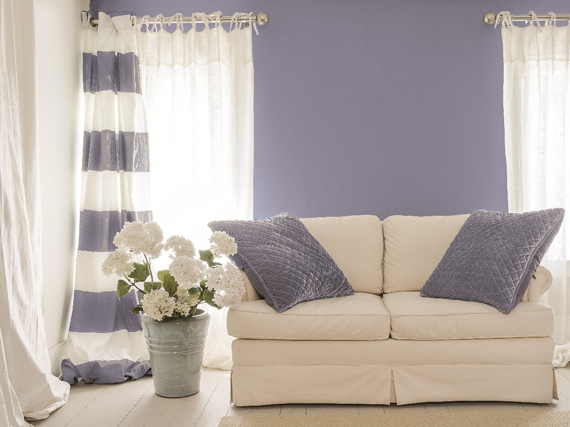 PPG Paints has named Violet Verbena its 2017 Color of the Year. (Photo courtesy PPG Paints)