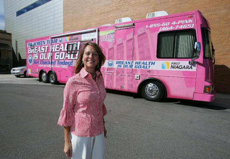 Kathleen E. Michienzi  is program coordinator for the Erie County Medical Center foundation Mobile Mammography coach. (Buffalo News file photo)
