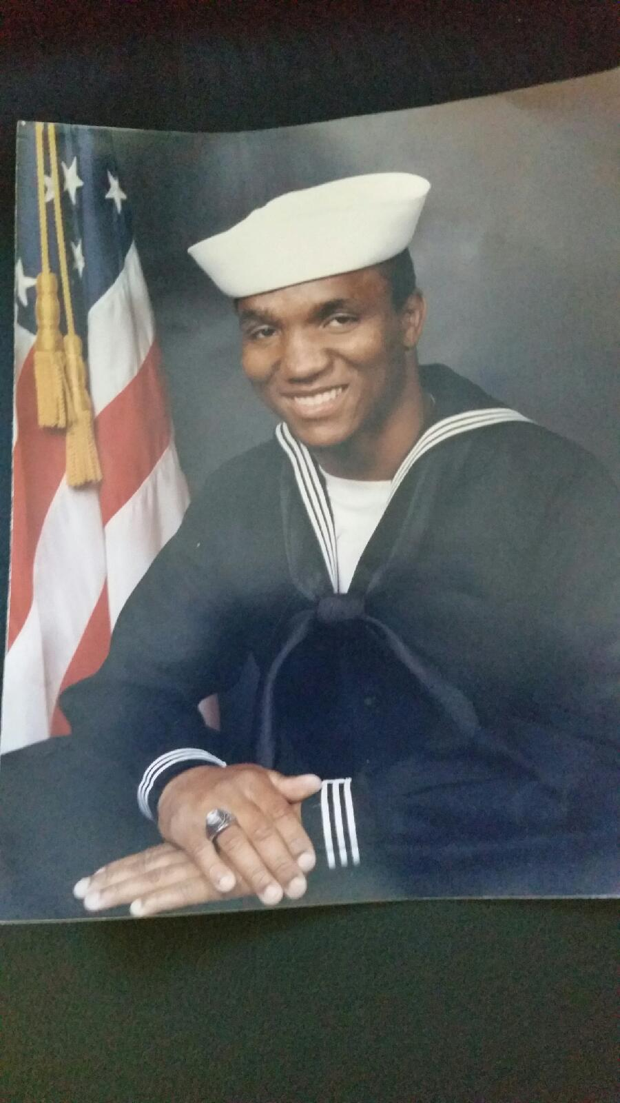 Sailor Nathaniel Jones Jr. is among 1,500 black military veterans to be honored with a new memorial. (Provided by Jones family)