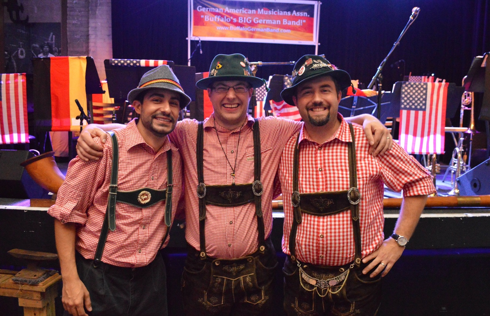 Members of the German-American Musicians at the 2015 Buffalo Iron Works Oktoberfest. (Cody Osborne/Special to The News)