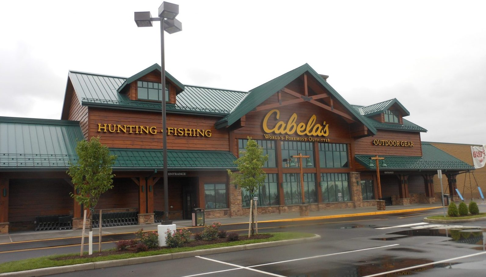 The Cabela's store in Cheektowaga, and all Cabela's stores, have been purchased by Bass Pro.