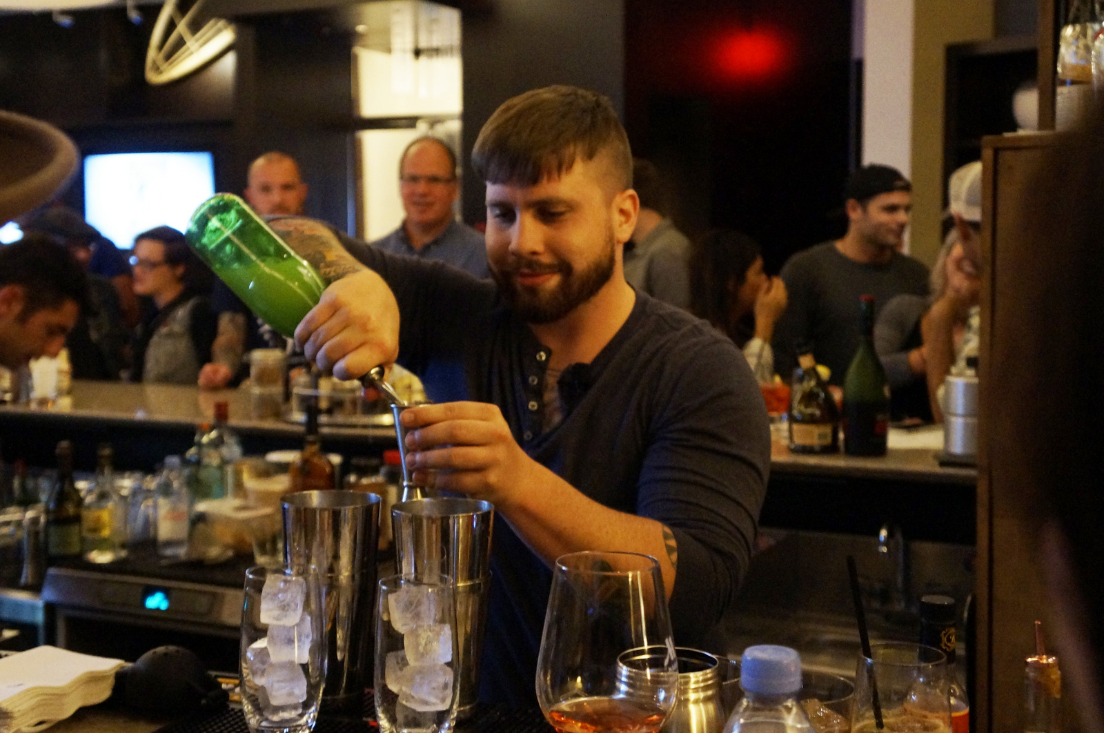 Joseph Whyte of Buffalo Proper took top honors at a U.S. Bartenders' Guild event last week. (Lizz Schumer/Special to The News)