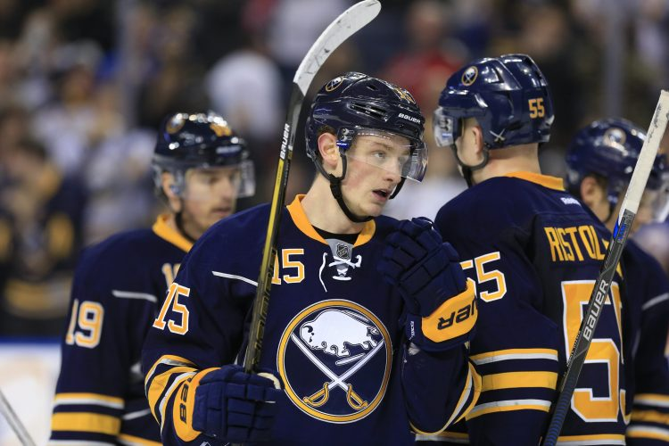Boston boys Eichel and Vesey meet for the first time in Buffalo