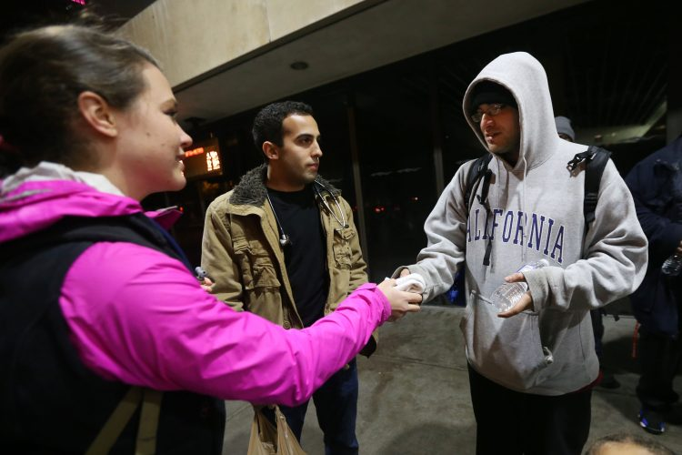 UB med students make their rounds on Buffalo streets, shelters