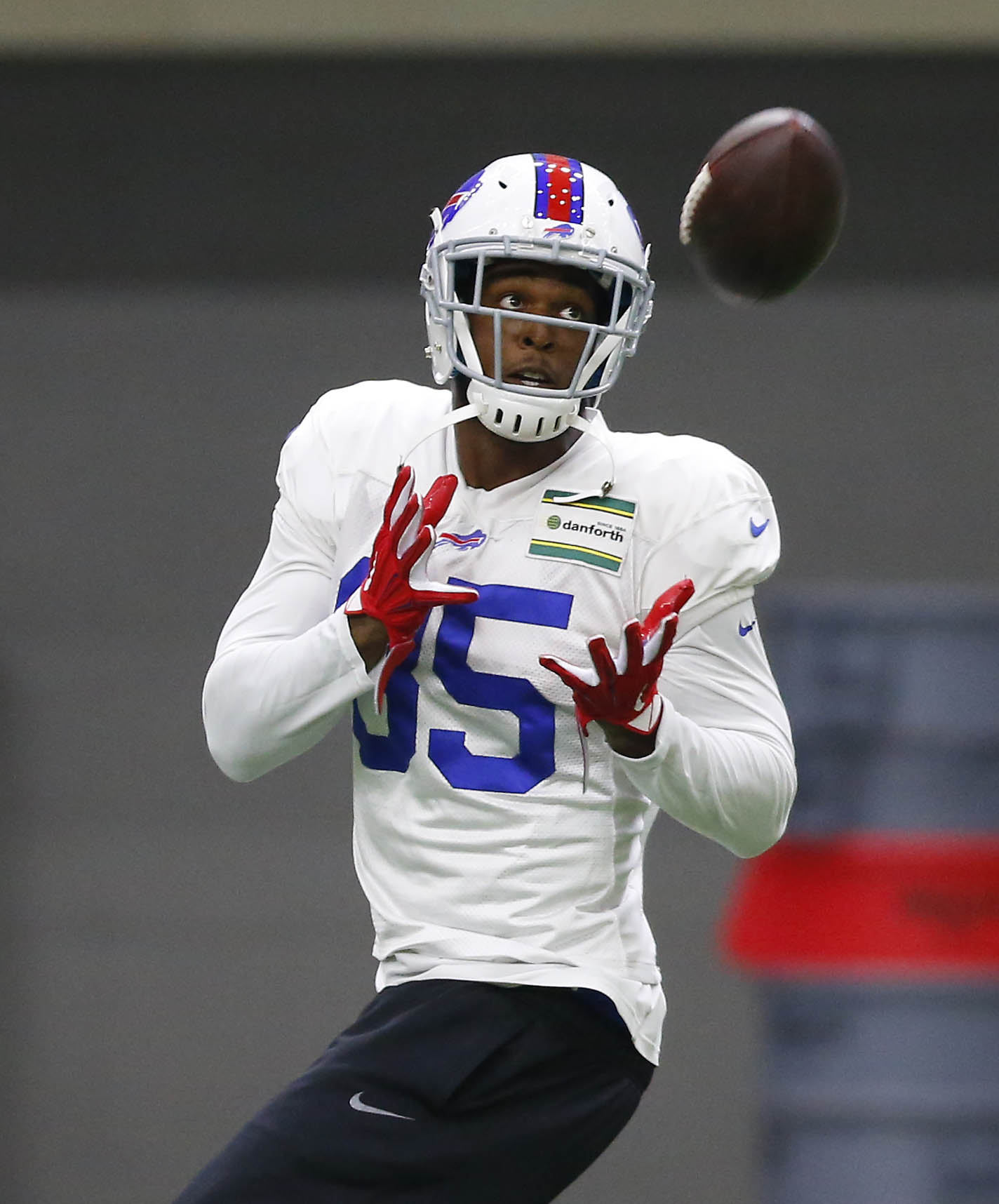The Bills will have to closely manage tight end Charles Clay's practice reps. (James P. McCoy/Buffalo News)