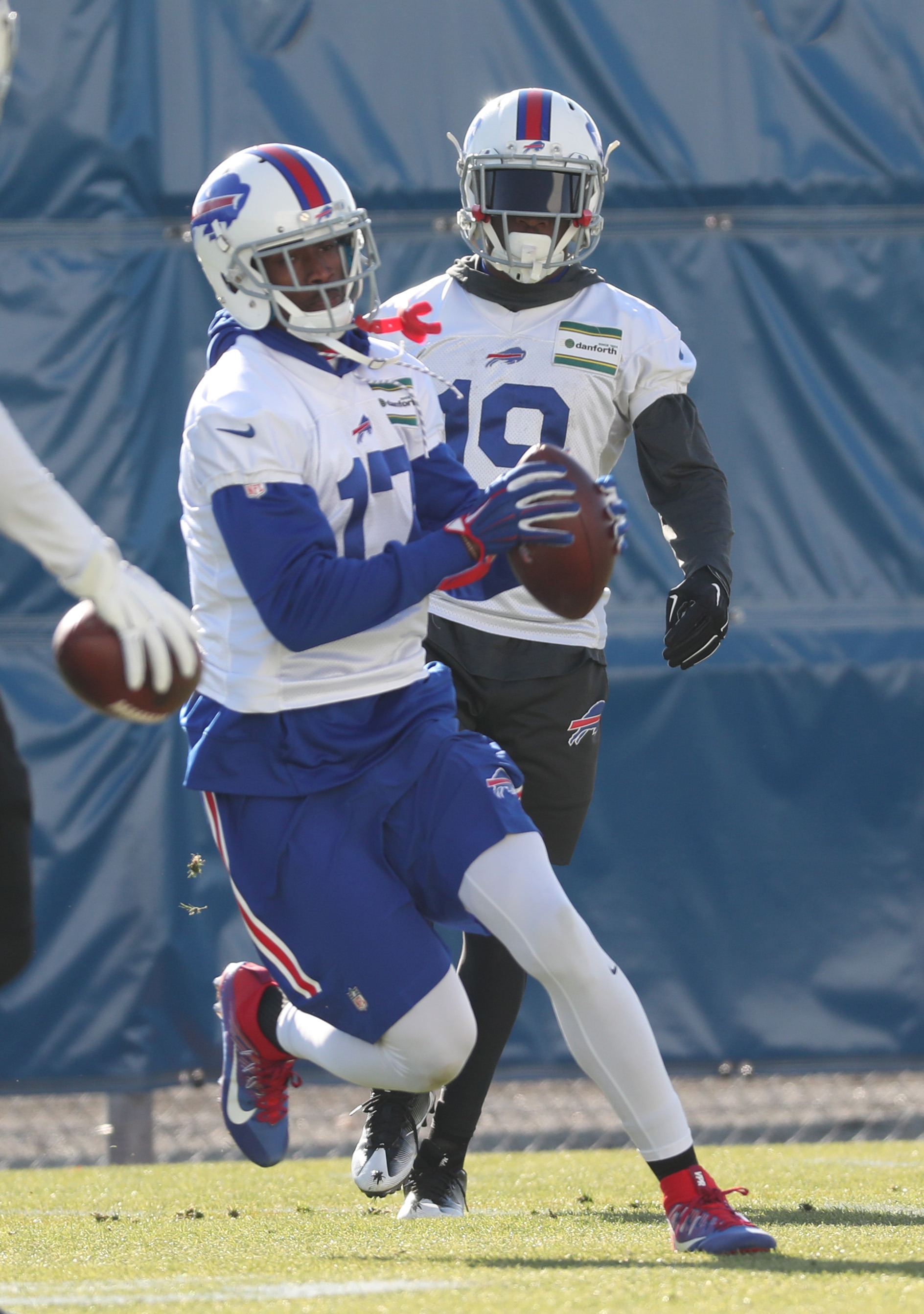 The New England Patriots are reportedly showing an interest in Bills receiver Justin Hunter. (James P. McCoy/Buffalo News)
