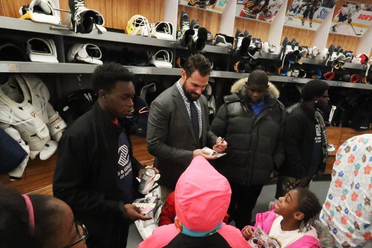 Inside the Sabres: Zach Bogosian lays foundation for giving