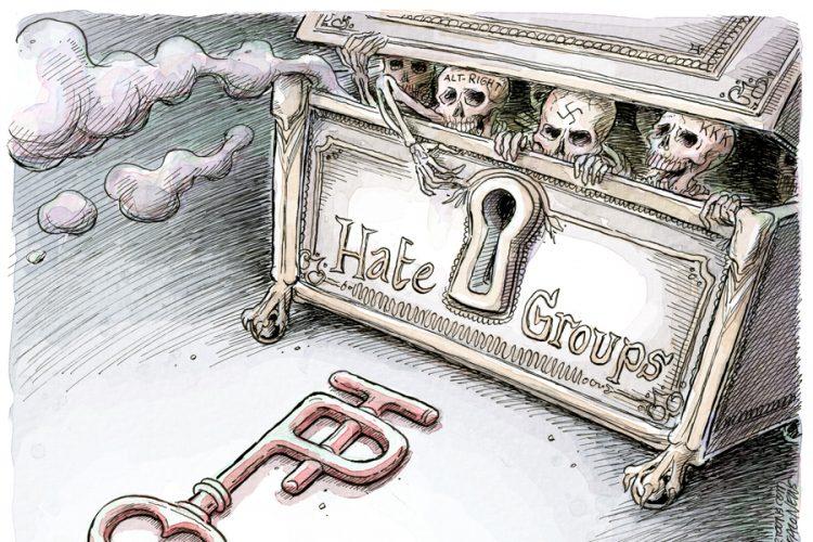 Adam Zyglis: Hate groups