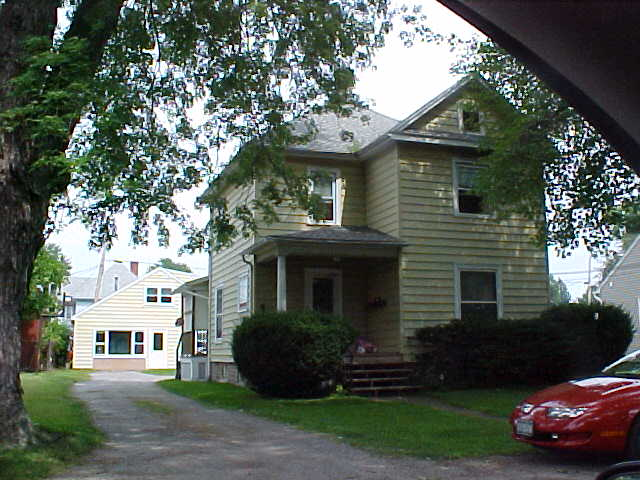 The property where a man died in a fire Tuesday morning. (Town of Newfane online property records)