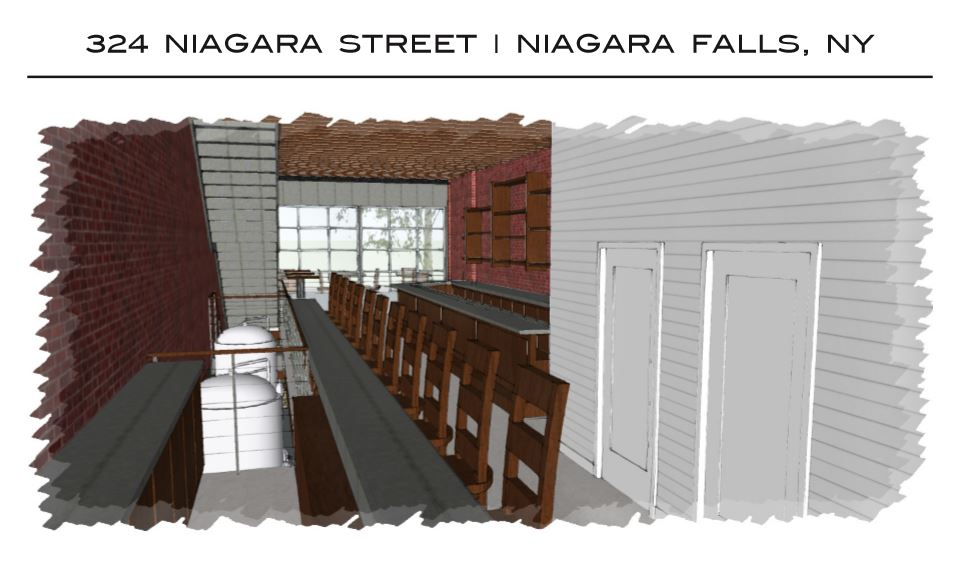Plans for Community Beer Works Barrel House in Niagara Falls