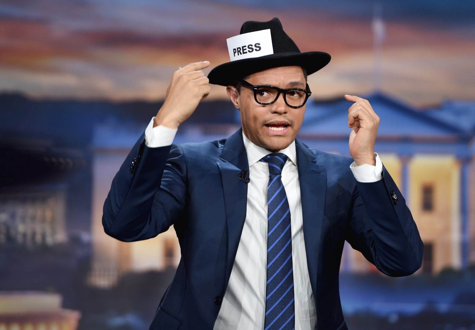 This is how most people see Trevor Noah. 'The Daily Show' host's new book is a different view. (Jason Kempin/Getty Images for Comedy Central)